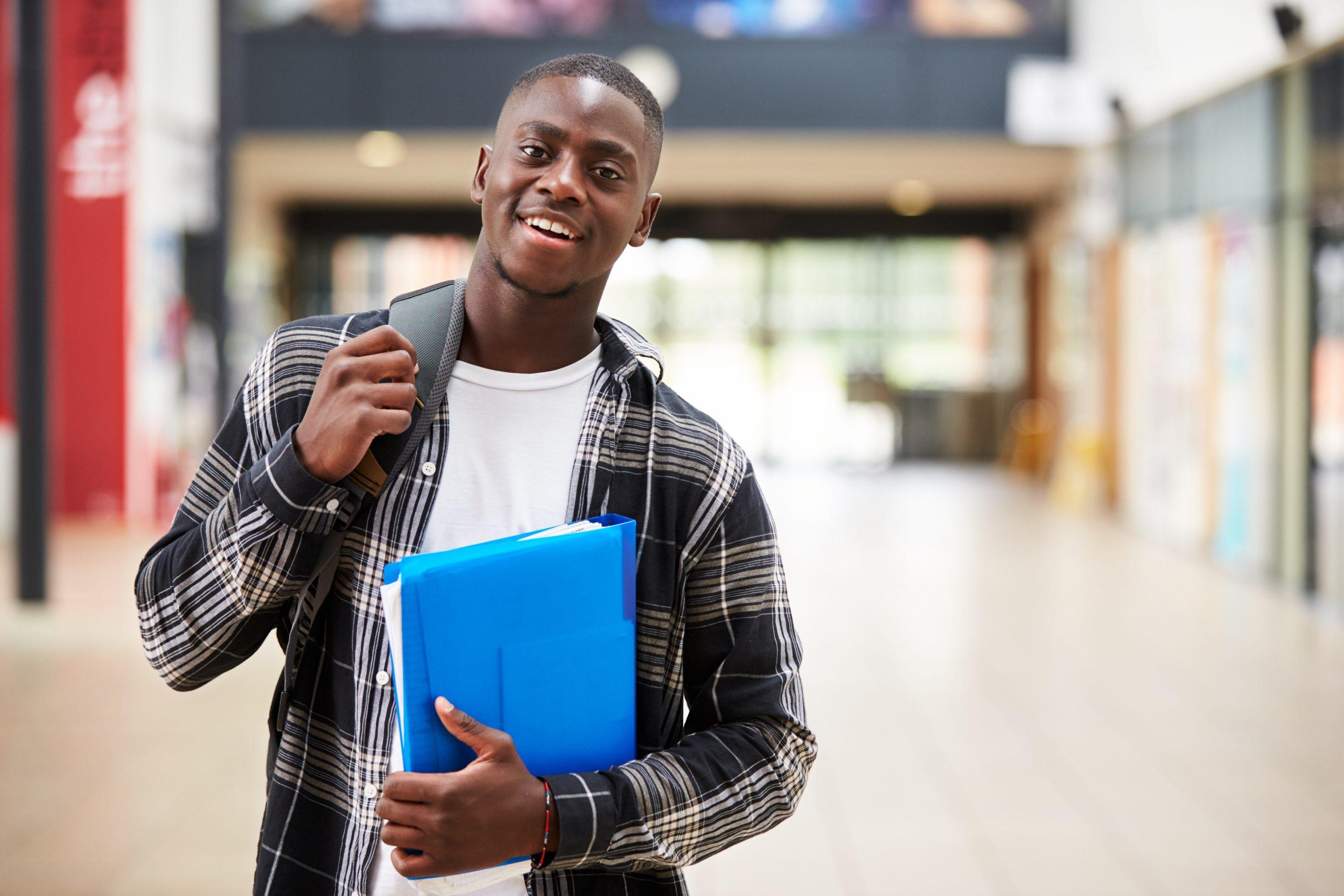 black college student shutterstock